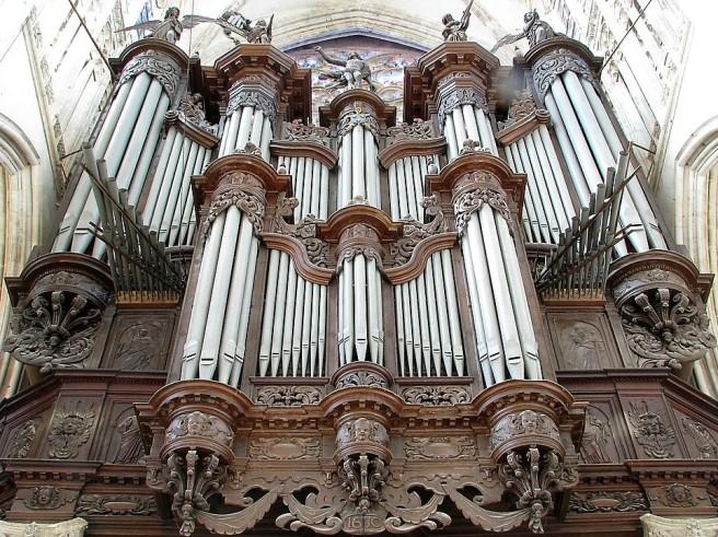 Rouen St Ouen organ